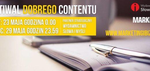 Festiwal Dobrego Contentu EDYCJA I