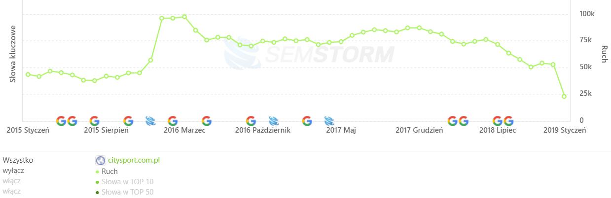[citysport.com.pl] Analiza stron _ SEMSTORM