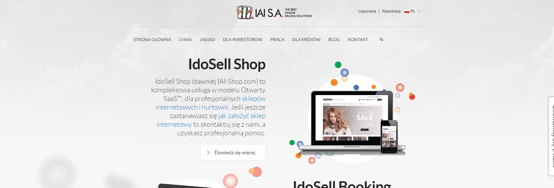 Platforma SaaS IdoSell