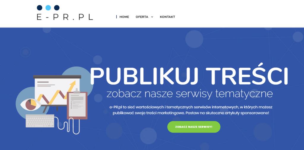 e-PR.pl, czyli nowy projekt firmy MAYKO
