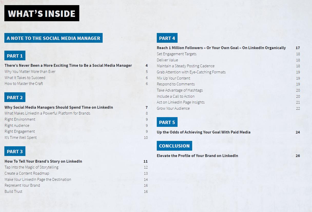 E-book od LinkedIn jest wypełniony ciekawymi danymi oraz wskazówkami