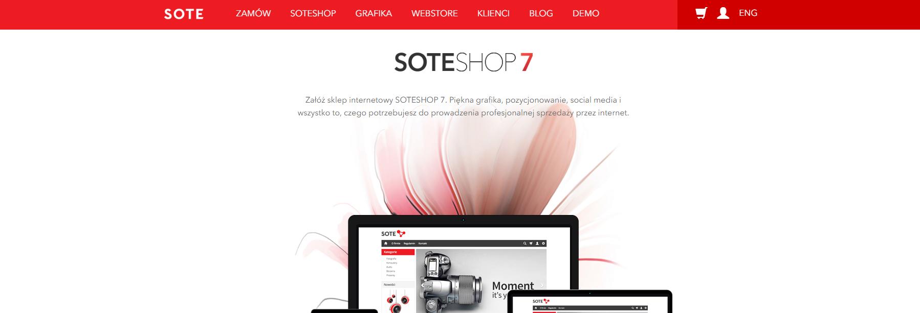 Platforma SaaS SOTESHOP