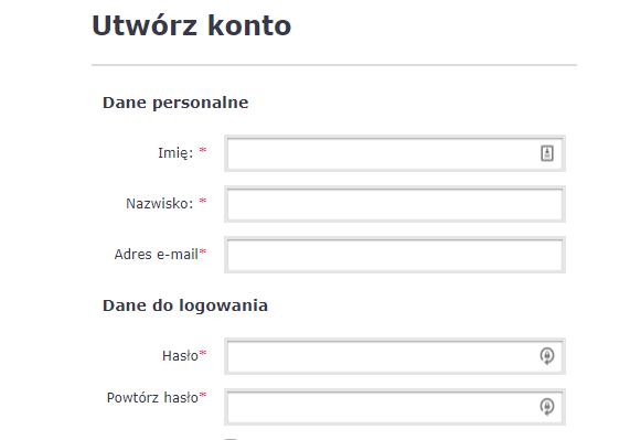 Proces rejestracji na estyl_pl