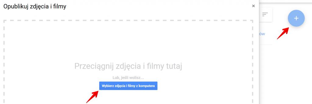 Dodawanie zdjęć do Google Moja Firma