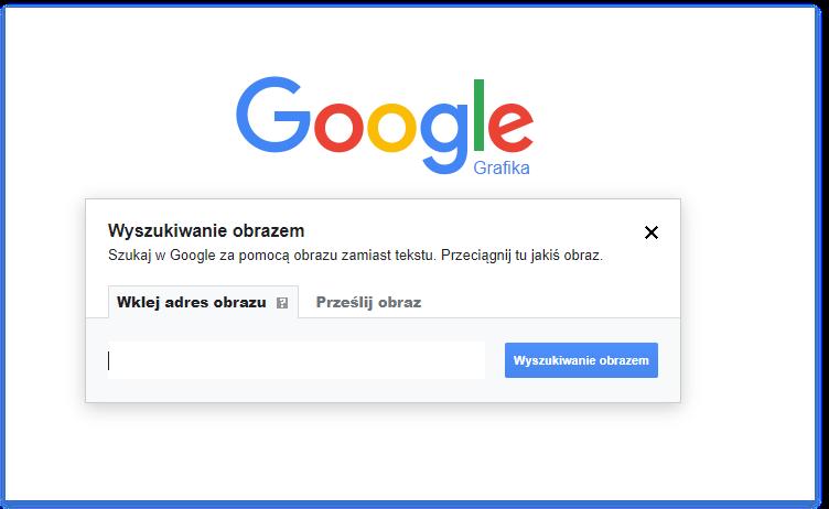 wyszukiwanie obrazem Google